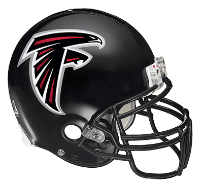 Falcons helmet png. Atlanta black transparent stickpng