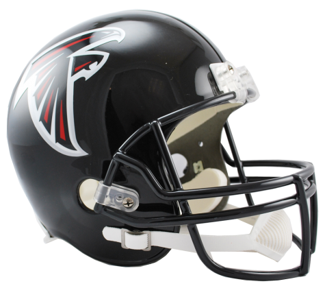 Atlanta vsr replica . Falcons helmet png