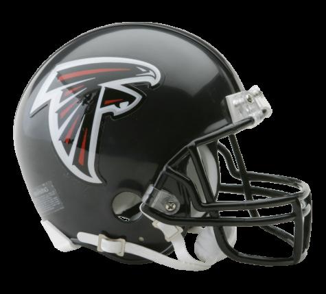 Falcons helmet png. Atlanta vsr mini sportscrack