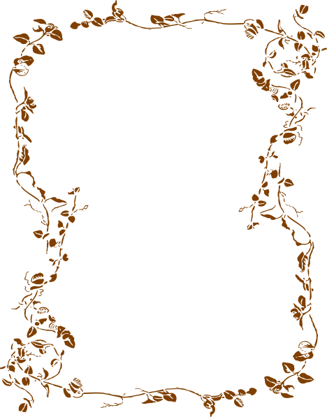 floral borders graphic. Fall border png