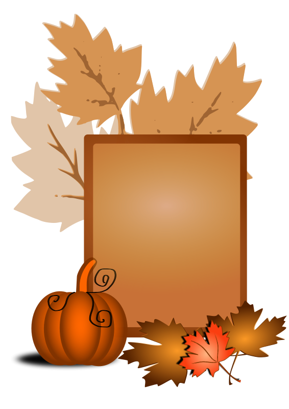 Clip art free bay. Fall clipart autumn animal