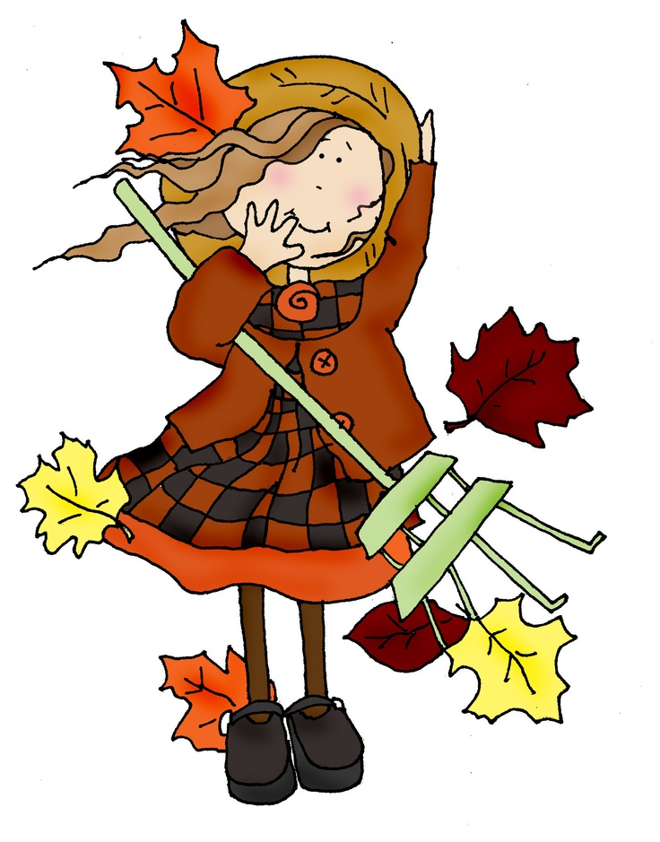 Windy clipart kid. Free autumn clothing cliparts