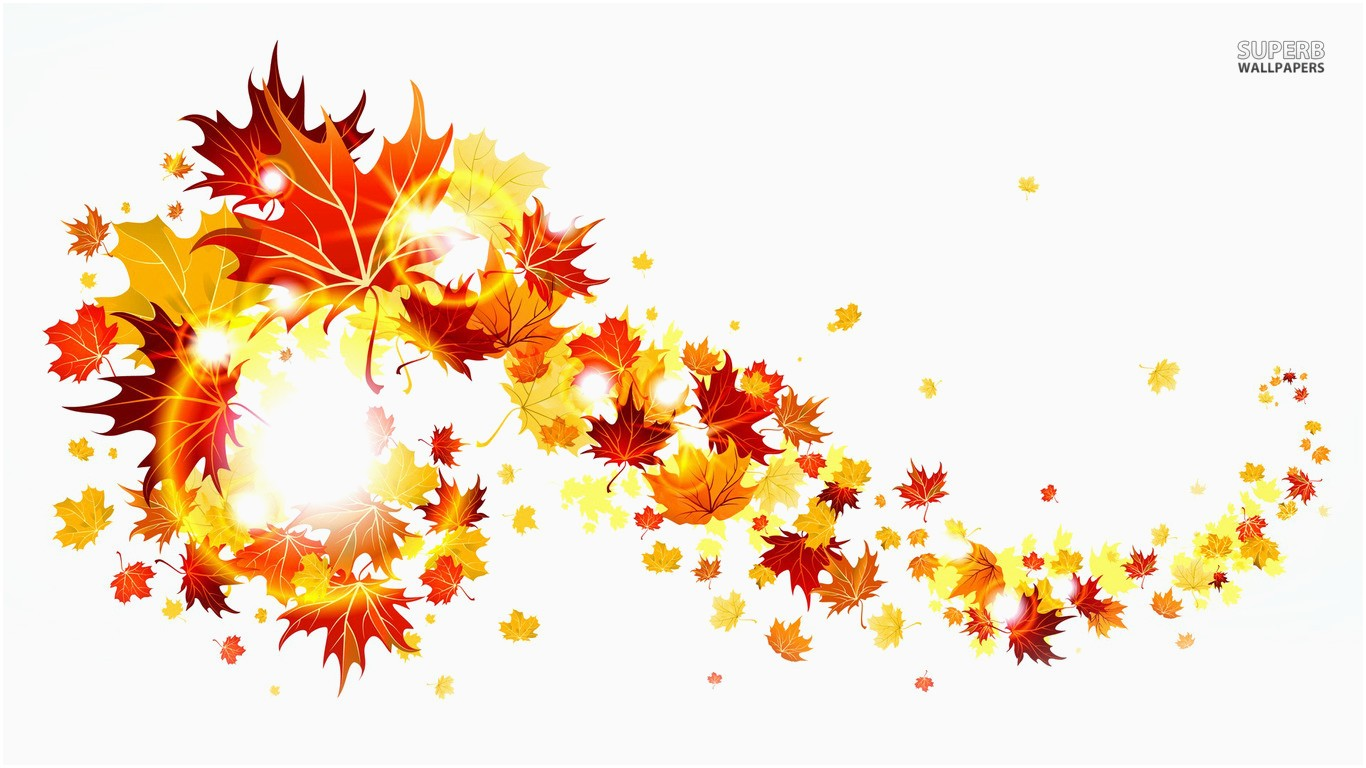 Fall clipart autumn sign. Free borders unique leaves