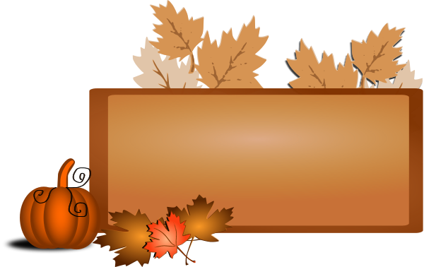 Fall clipart autumn sign. Clip art pictures free