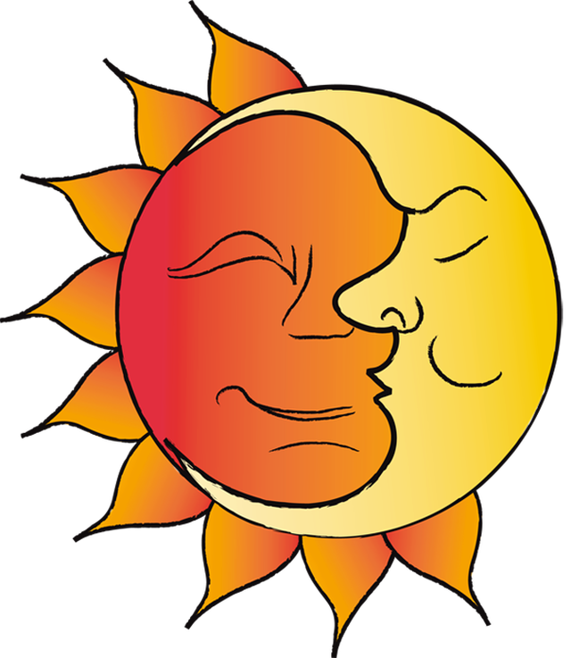 Clipart fall fall equinox. Equal day and night