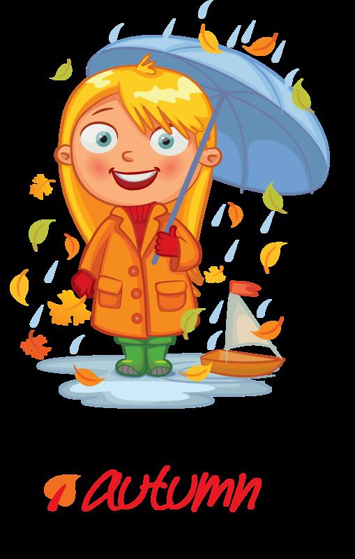 png pinterest autumn. Kid clipart seasons