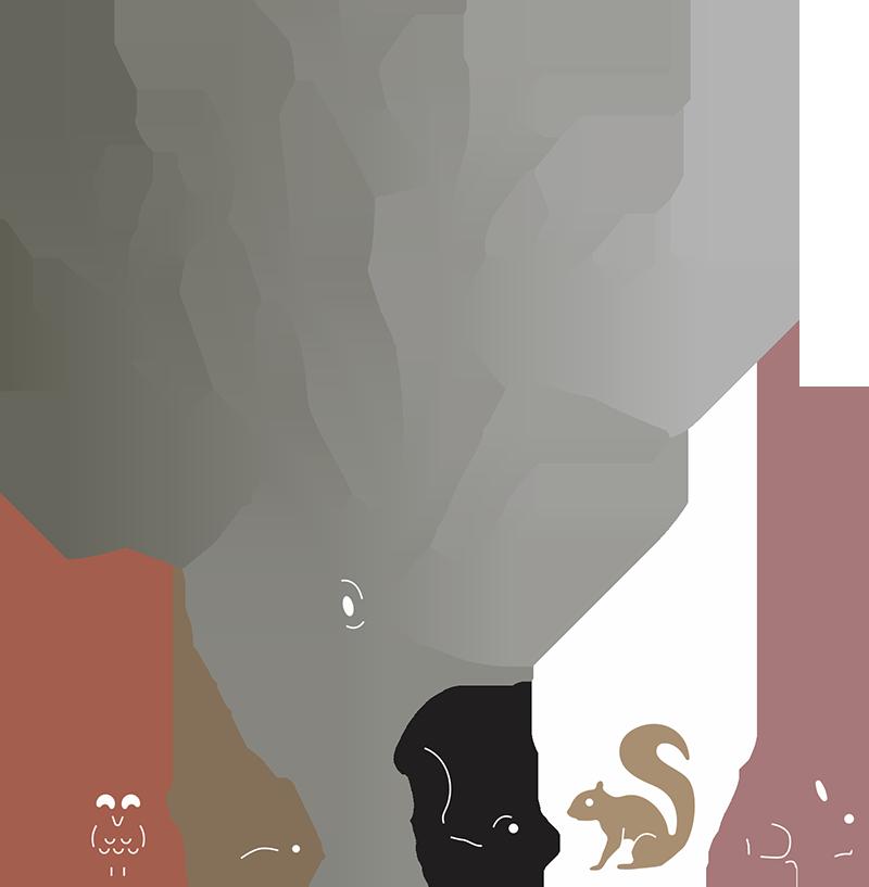 Cheery lynn designs birch. Fall clipart cute critter
