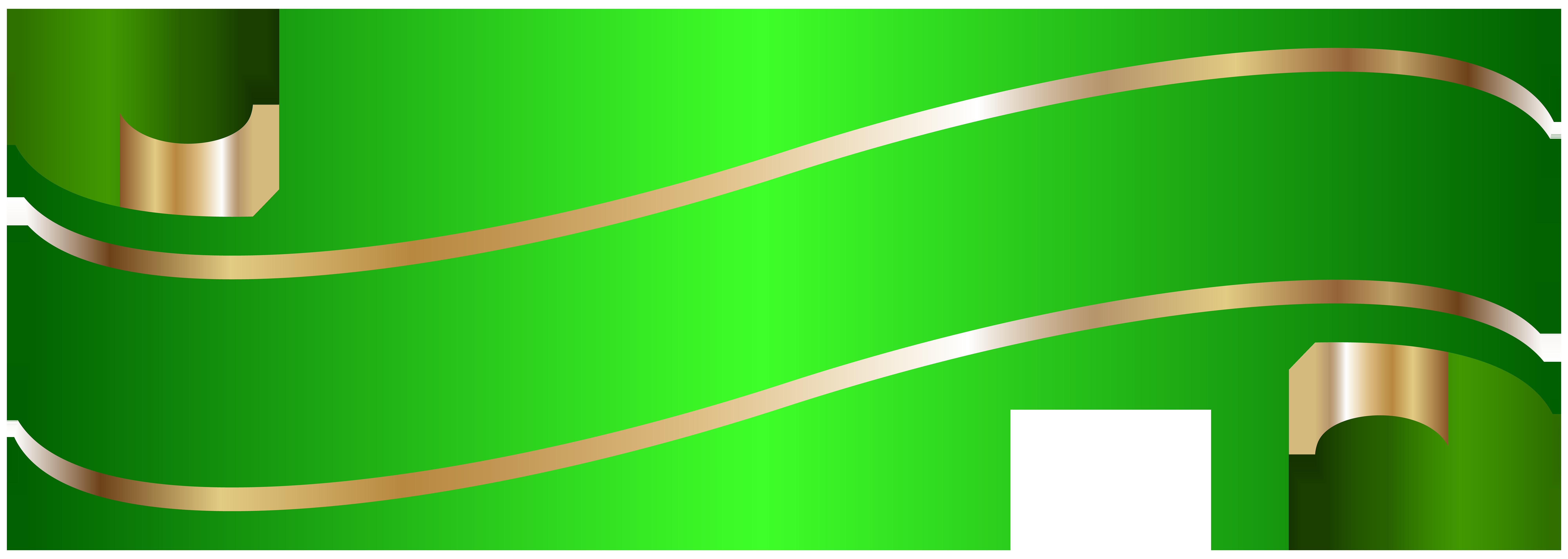 Watermelon clipart banner. Elegant green png clip