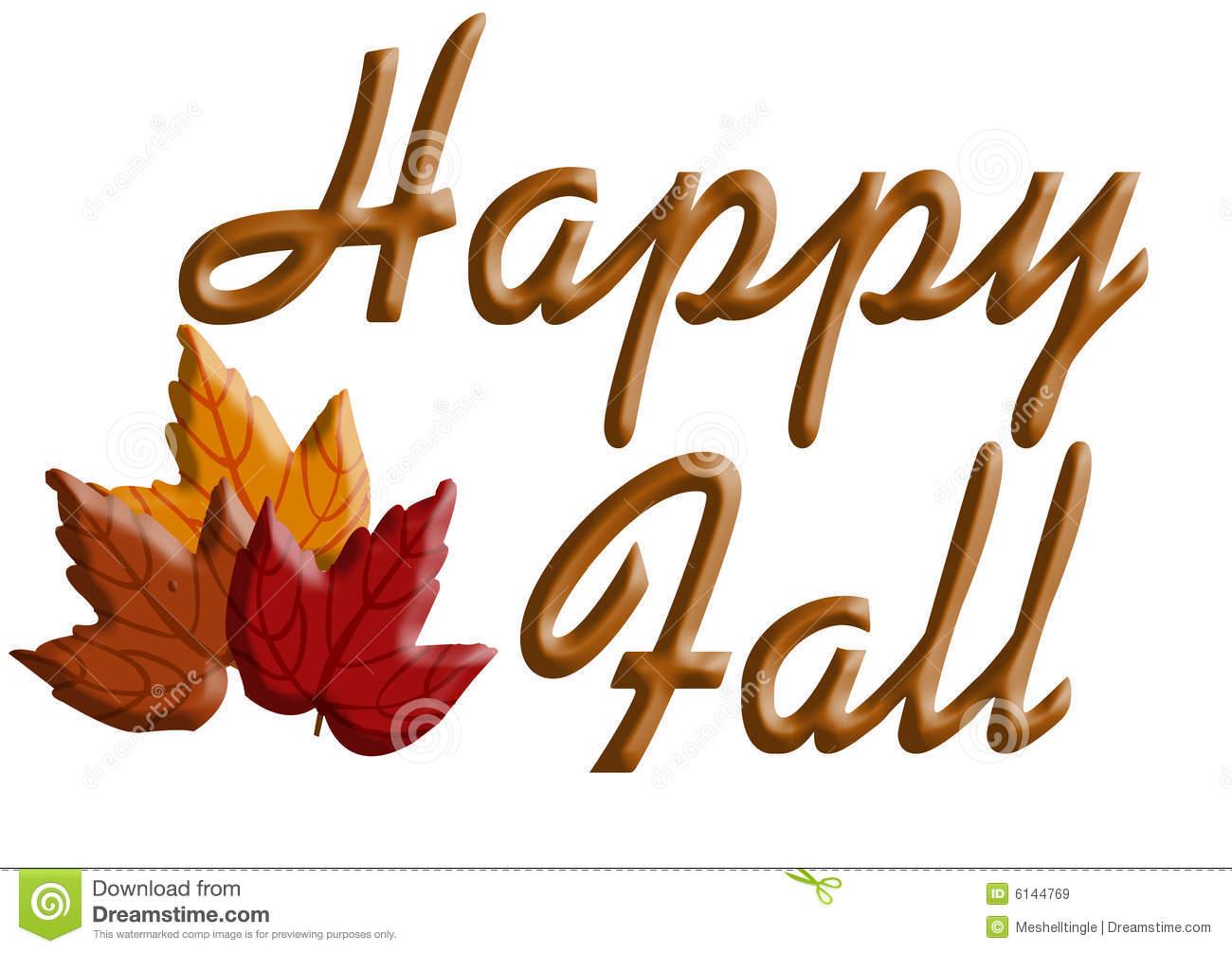 Fall clipart happy fall.  clip art clipartlook