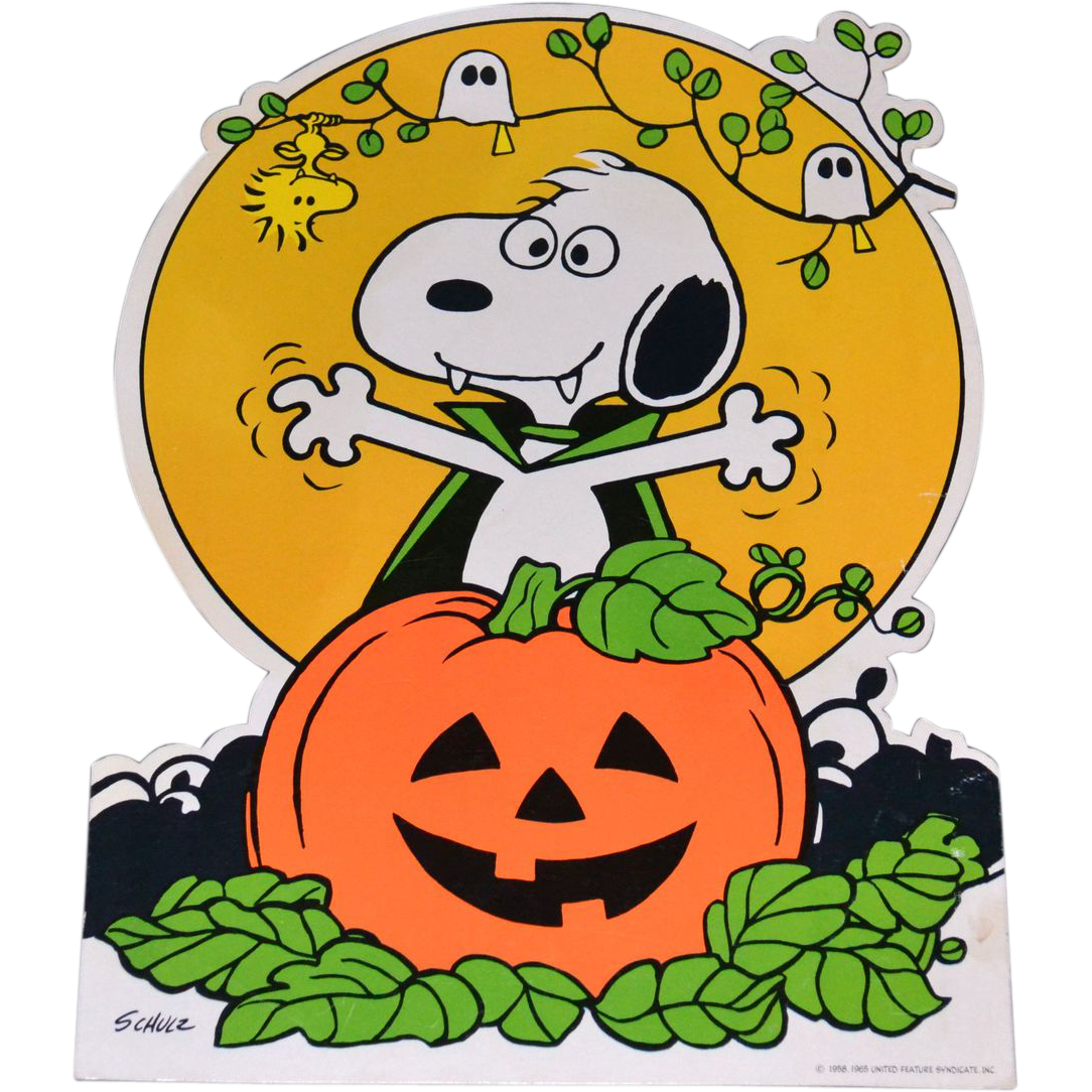 collection of halloween. Peanuts clipart october