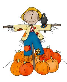 Scarecrow clipart autumn. Free fall cliparts download