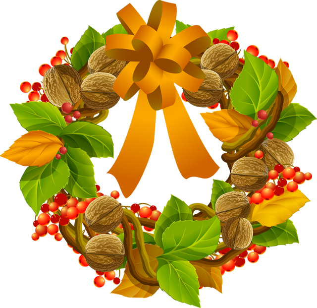 Fruits clipart wreath. Colorful clip art for