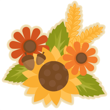 Group svg scrapbook cut. Fall flower png