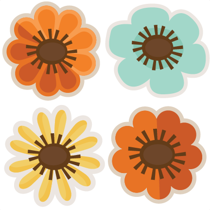 Fall flower png.  for free download