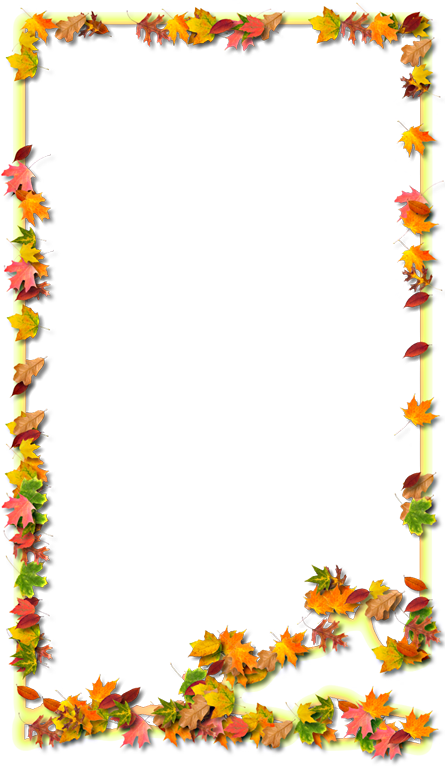 Okaloosa fancy style maps. Fall frame png