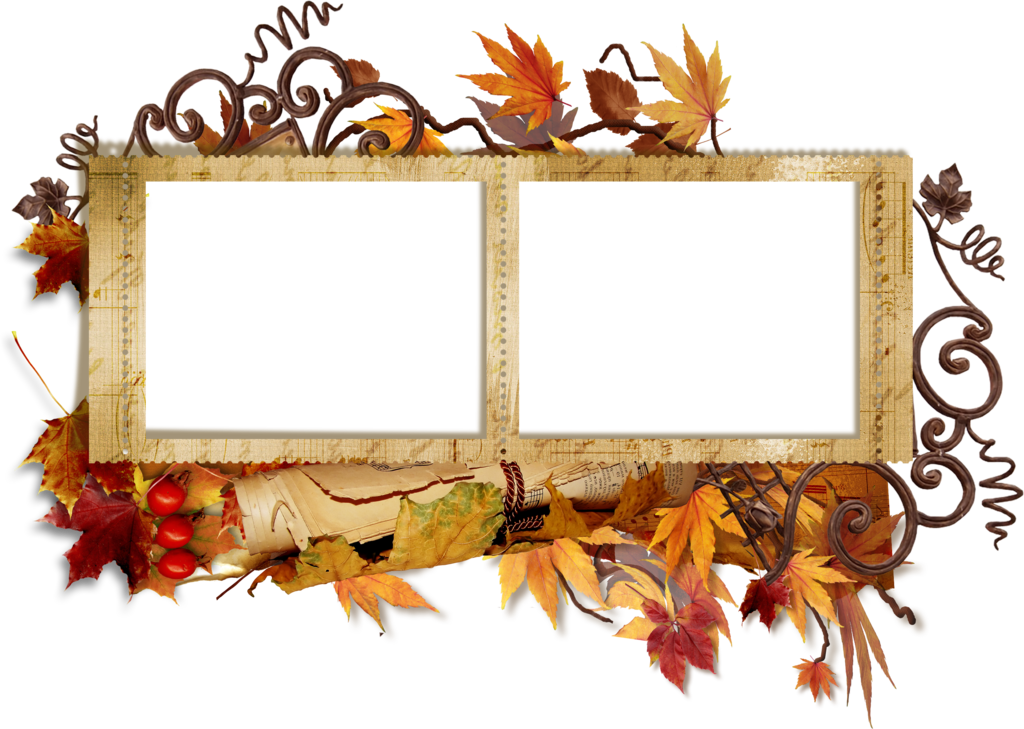 Transparent gallery yopriceville high. Fall frame png