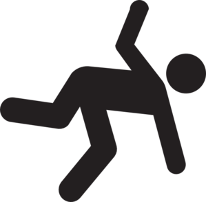 Falling clipart. Of someone