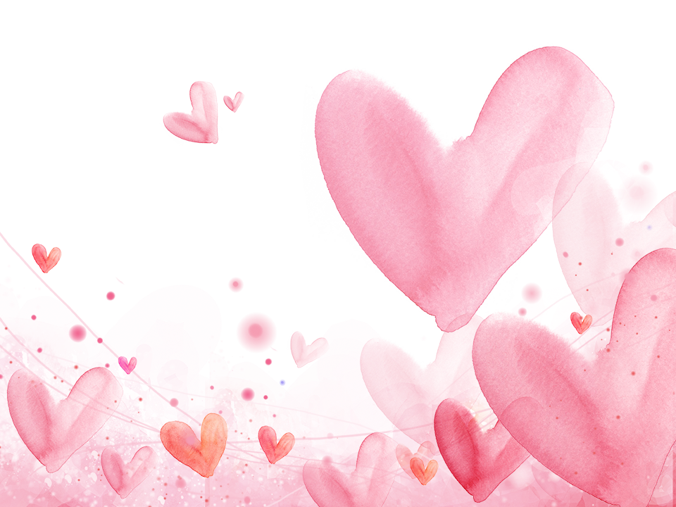 Falling hearts png. Romance in love watercolor