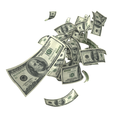gif for free. Falling money background png