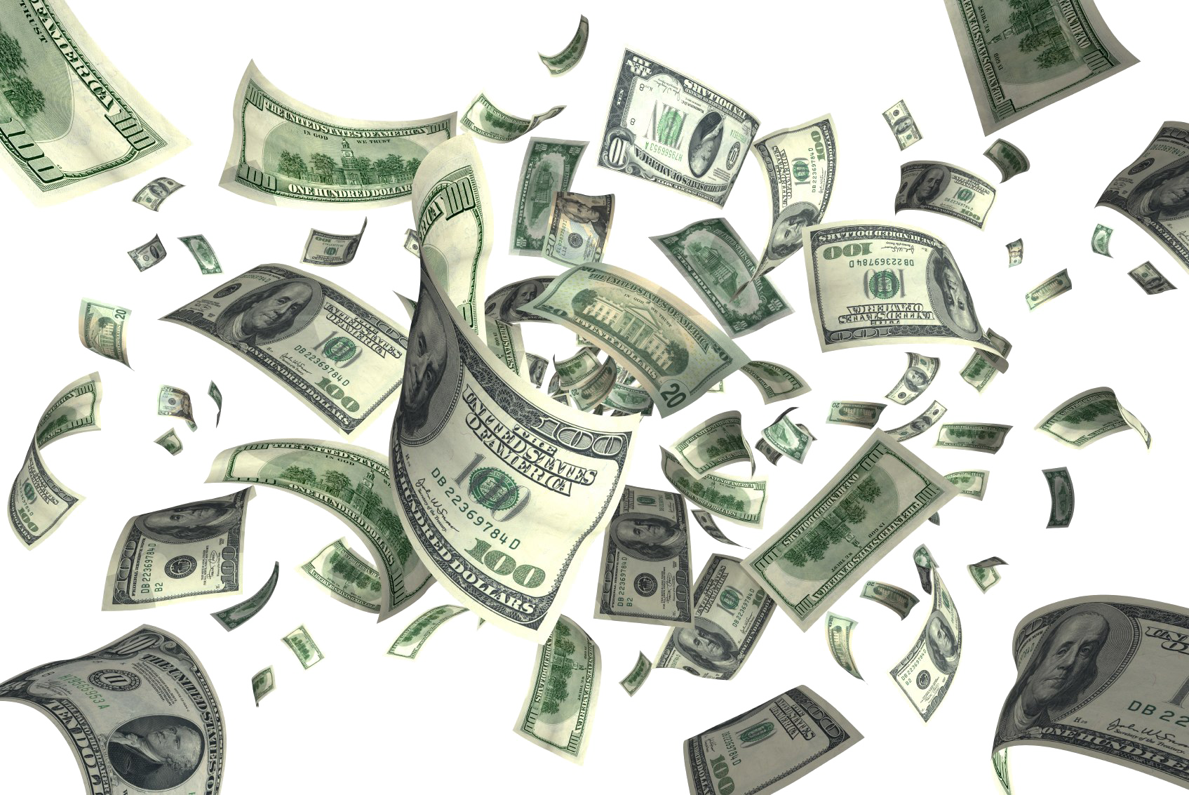 Cash download image arts. Falling money png