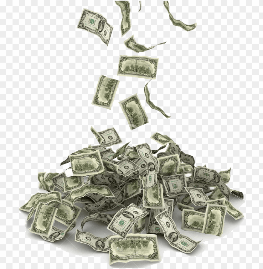 Falling money png. Free images toppng transparent