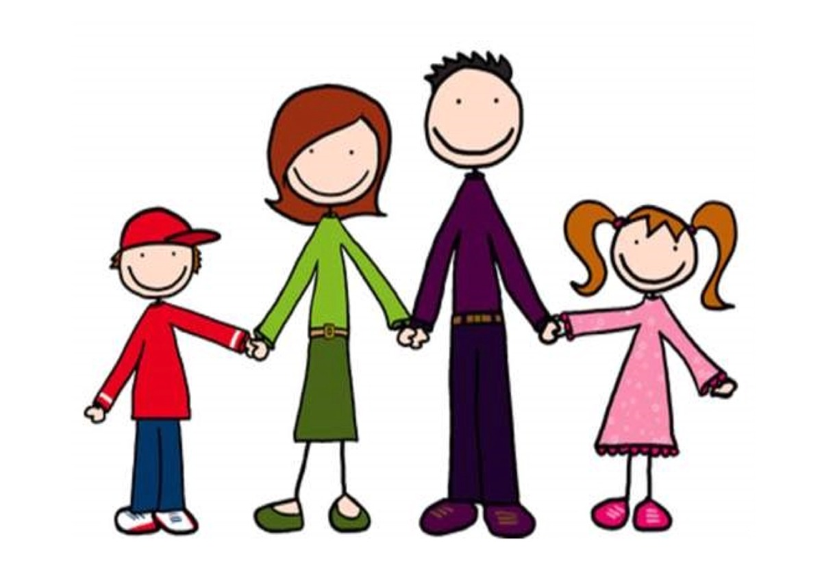 collection of types. 4 clipart family