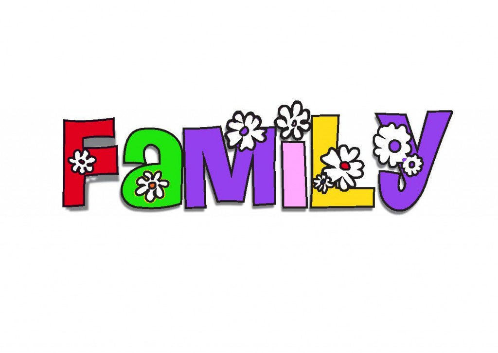 x my family. Families clipart