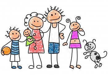 Drawing at getdrawings com. Families clipart