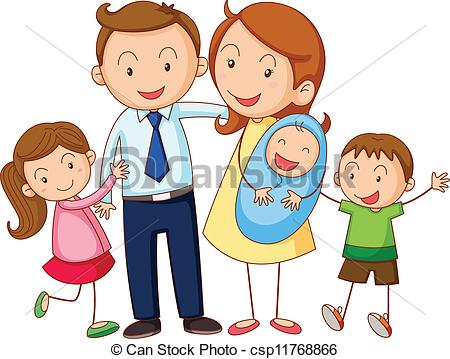 Family clip art free. Families clipart
