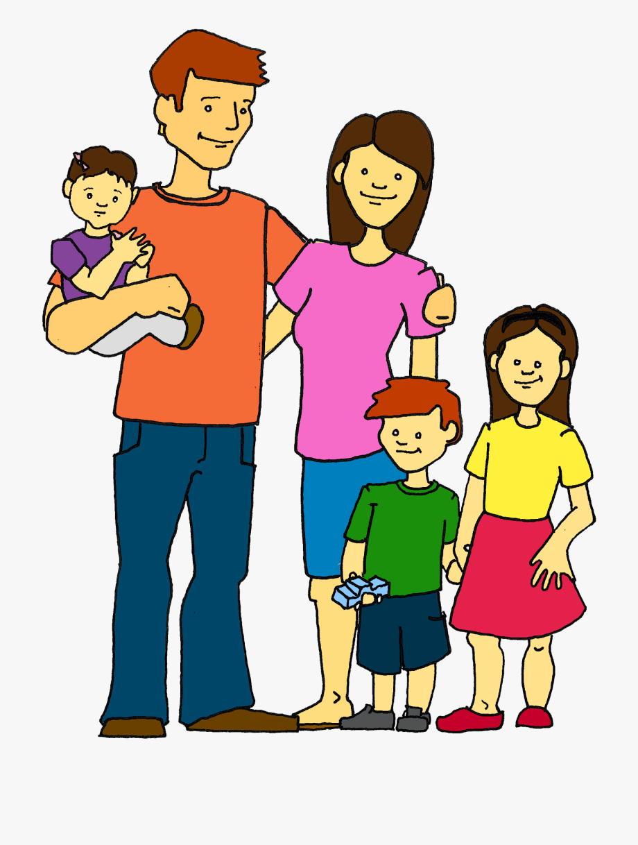 Family free image . Families clipart art