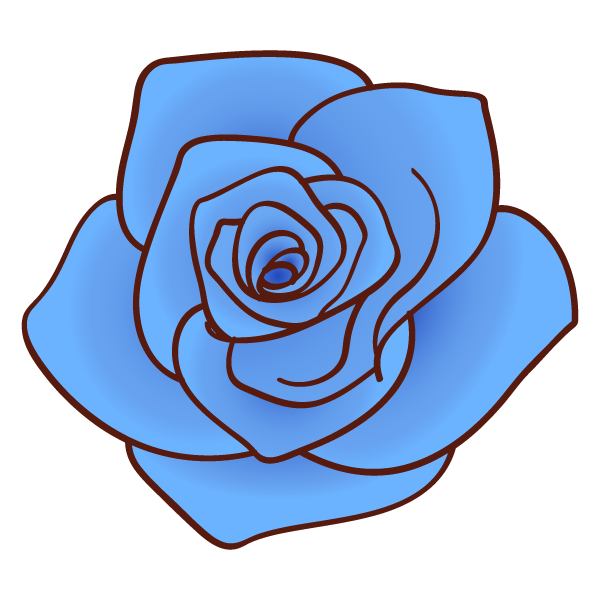 Families clipart blue. Rose png by hitose