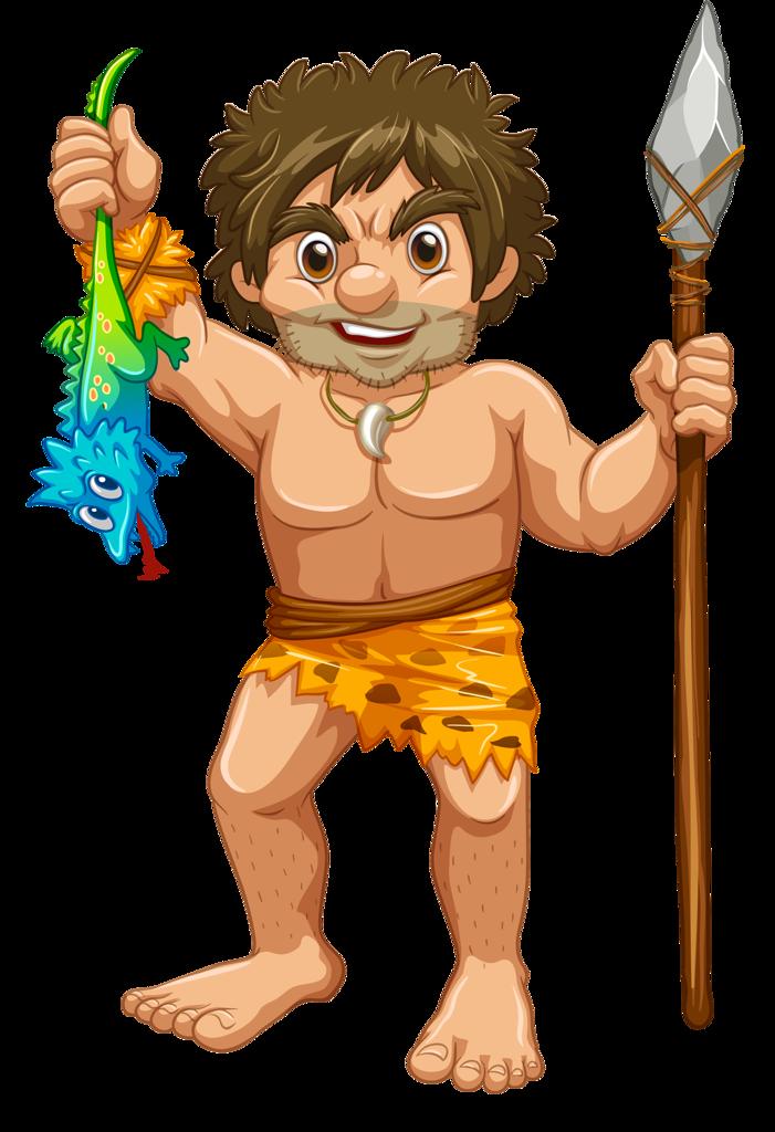 Pr hist ria e. Human clipart stone age man