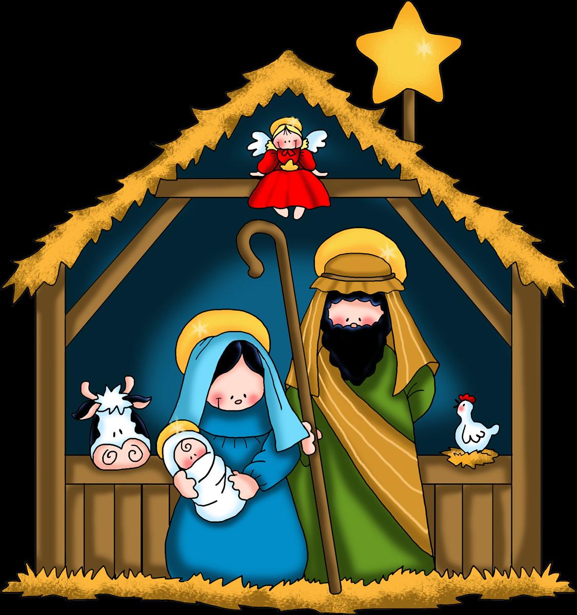 Nota haga usted click. Nativity clipart savior born