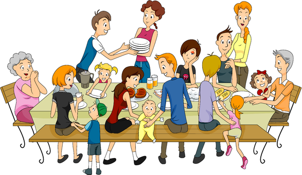 Free download best . Families clipart extended family