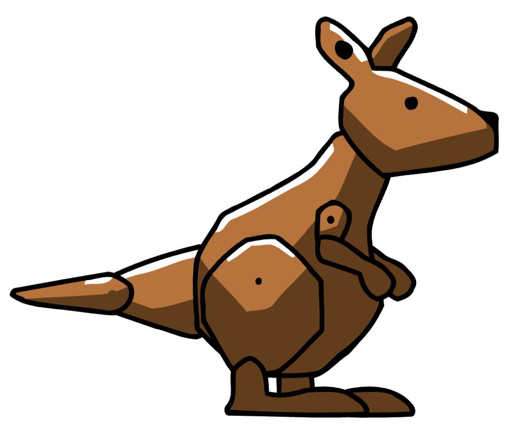 Scribblenauts wiki fandom powered. Kangaroo clipart kick