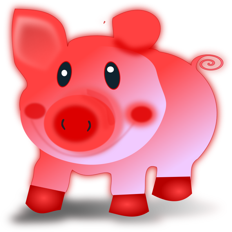 Pig clipart farm animal. Piglet medium image png