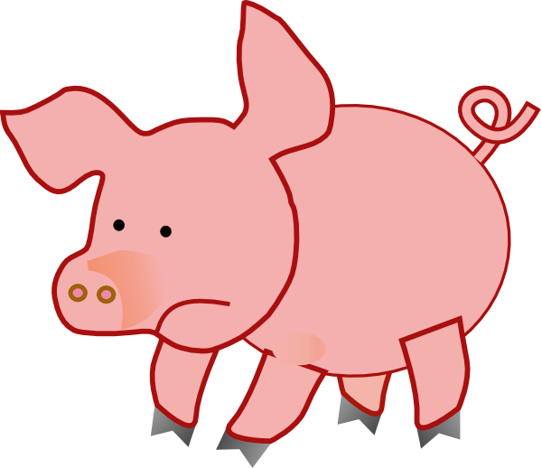 Fat clip art at. Families clipart pig