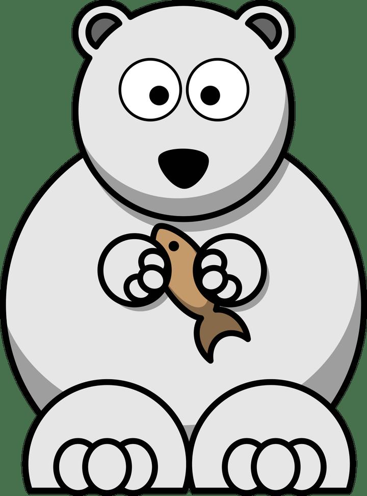 Cartoon images clip art. Families clipart polar bear