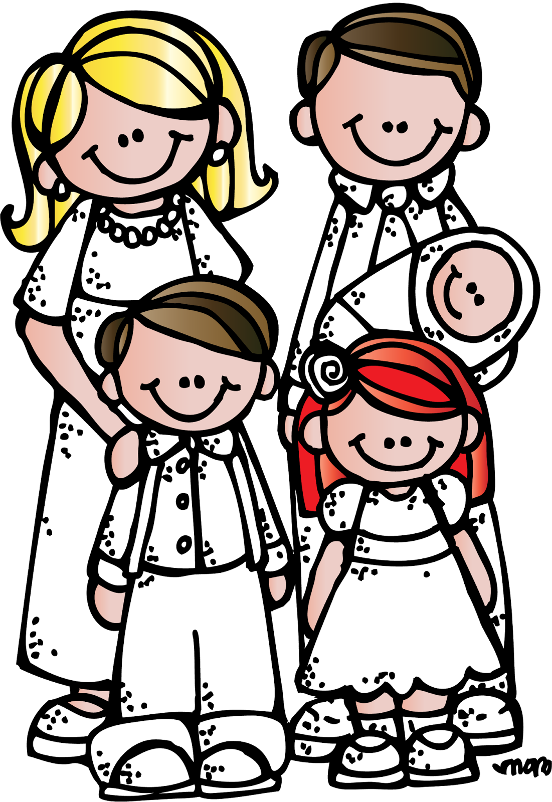 Lds clipart children's. Family new jokingart com