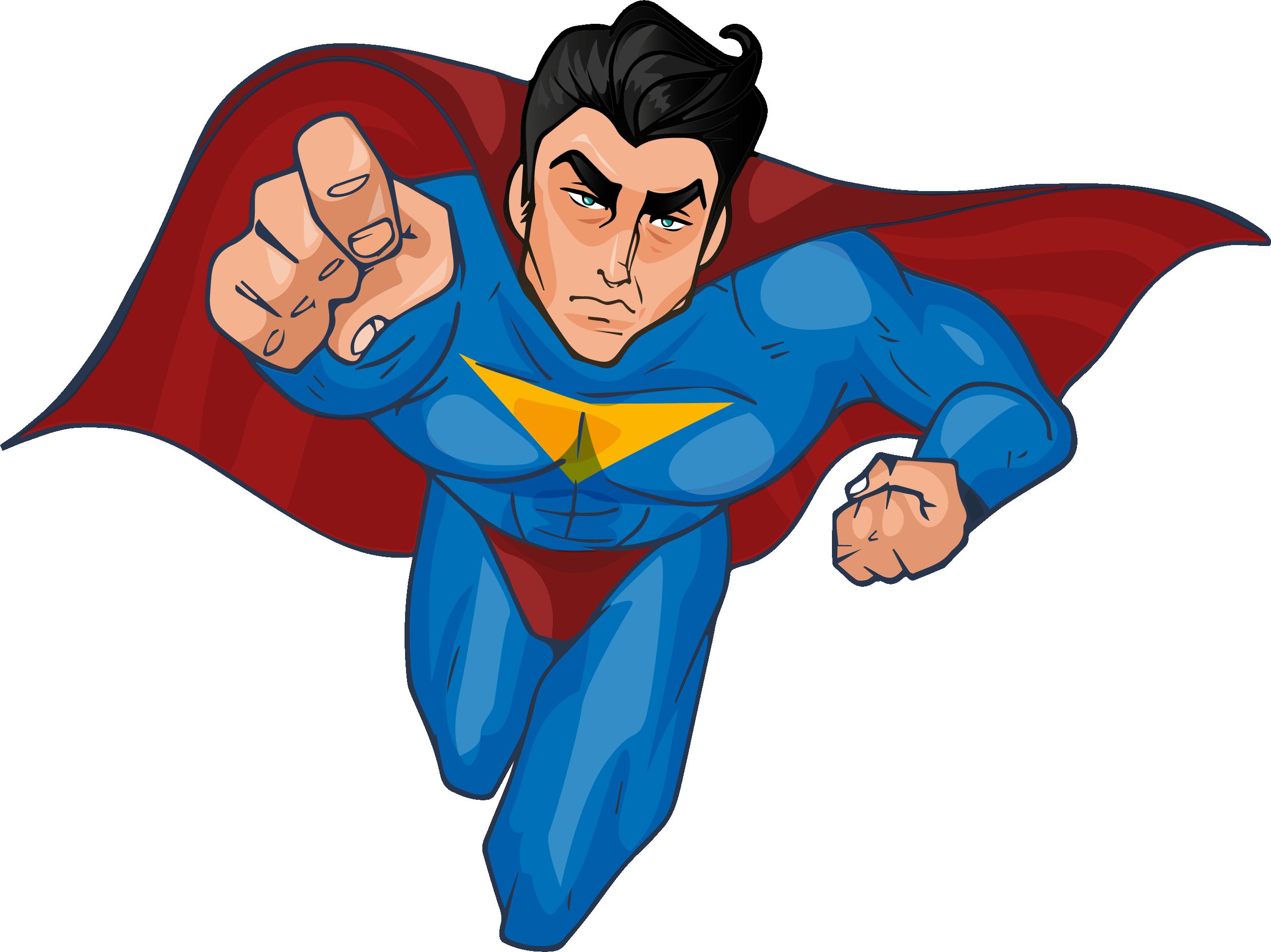 Superman png image jokingart. Superheroes clipart justice league
