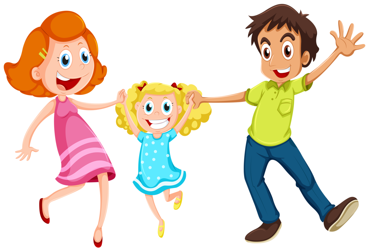 png teaching aids. Family clipart yoga