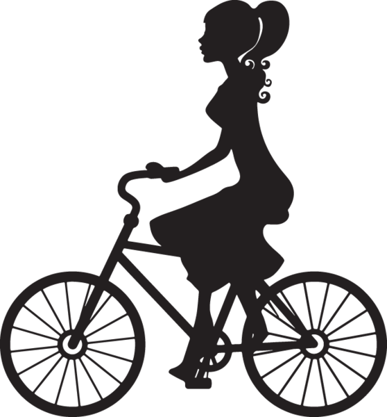 Family clipart bicycle.  ga silouette of