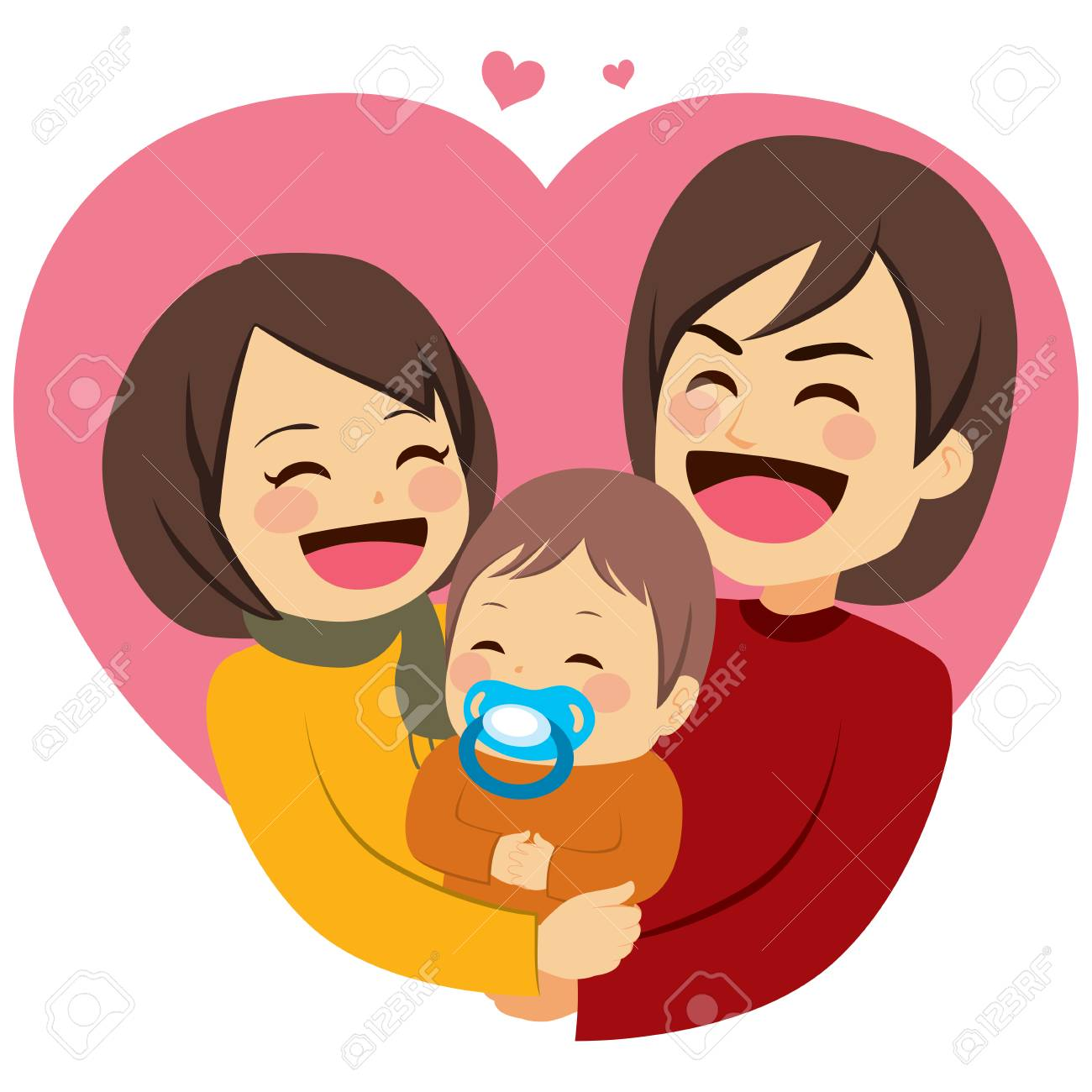 Free download clip art. Hug clipart family