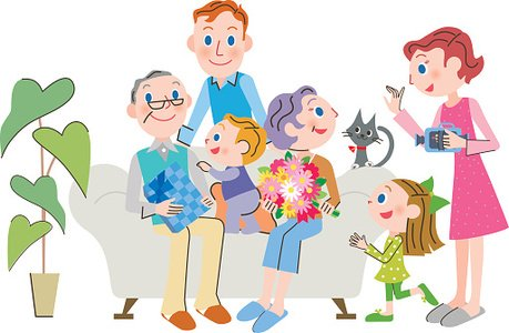 Family clipart respect. Who celebrates for the