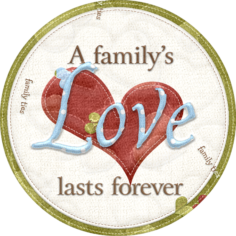 fami y f. Family clipart scrapbook