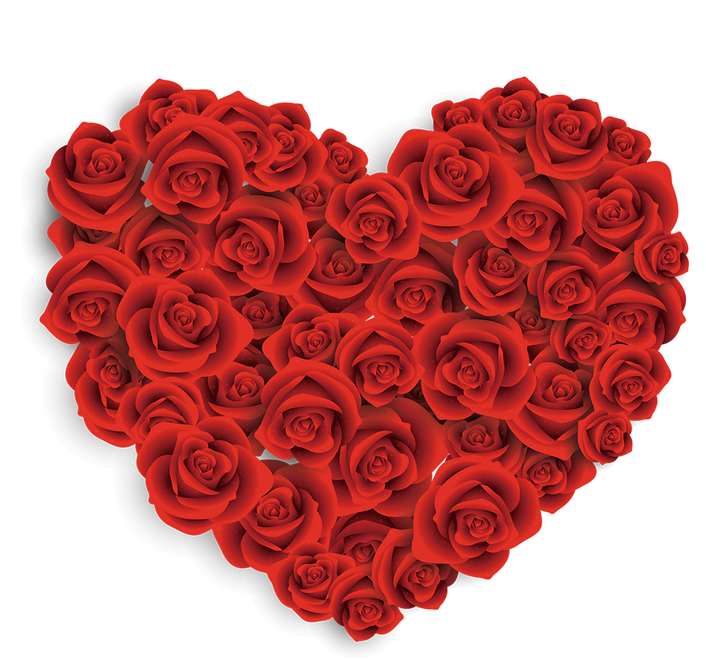 Gift clipart love gift. Valentines day heart rose