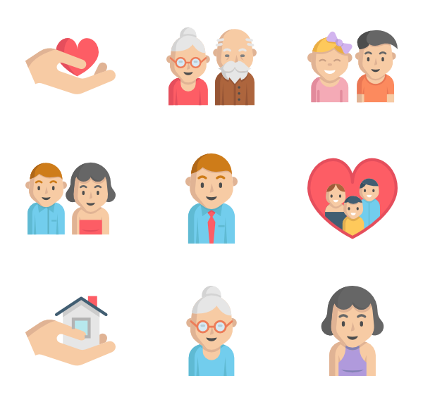 Family icon png.  packs vector svg