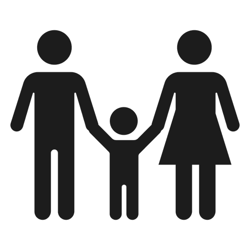 With child transparent svg. Family icon png