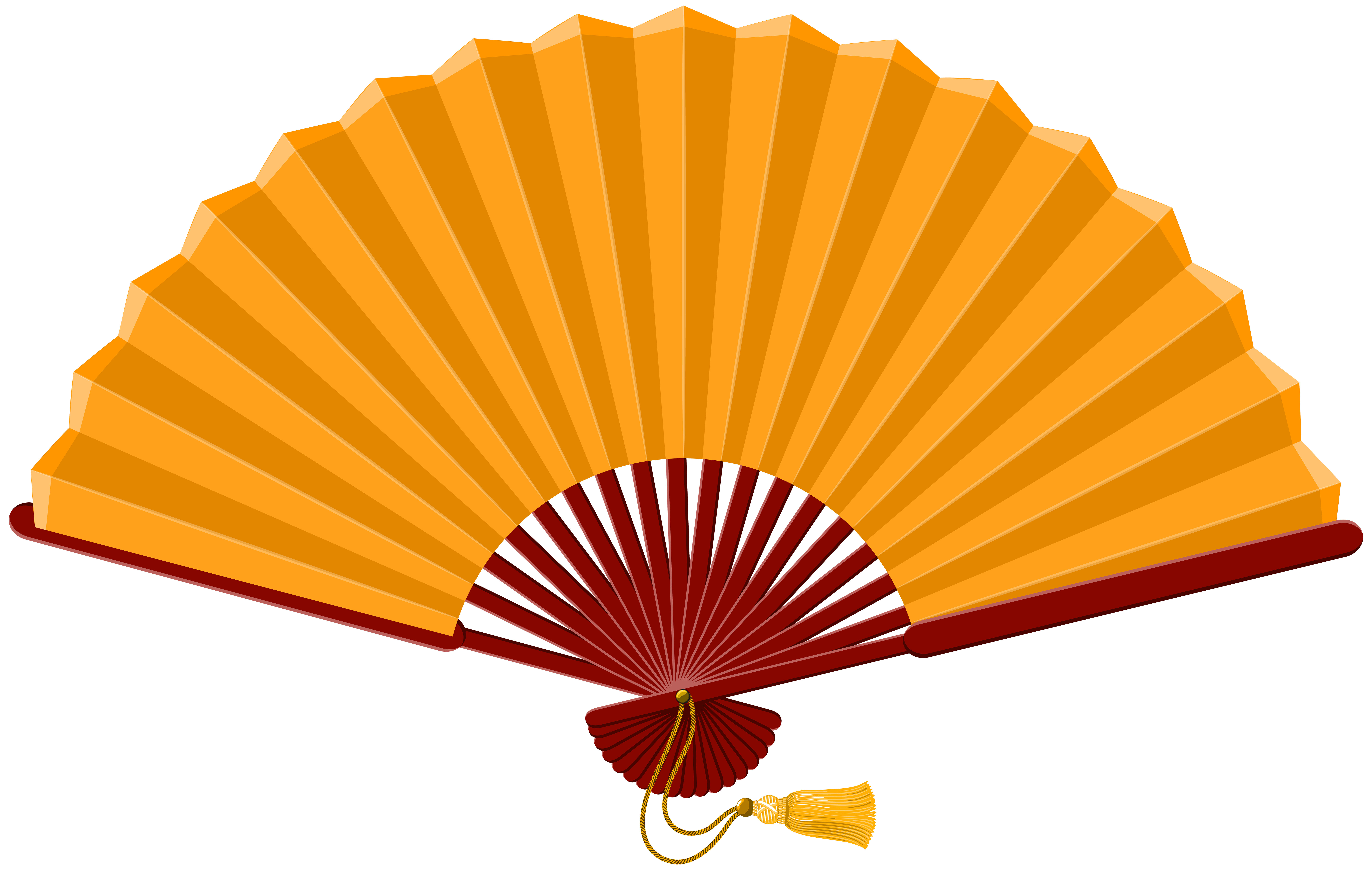 Fan clipart. Chinese png clip art