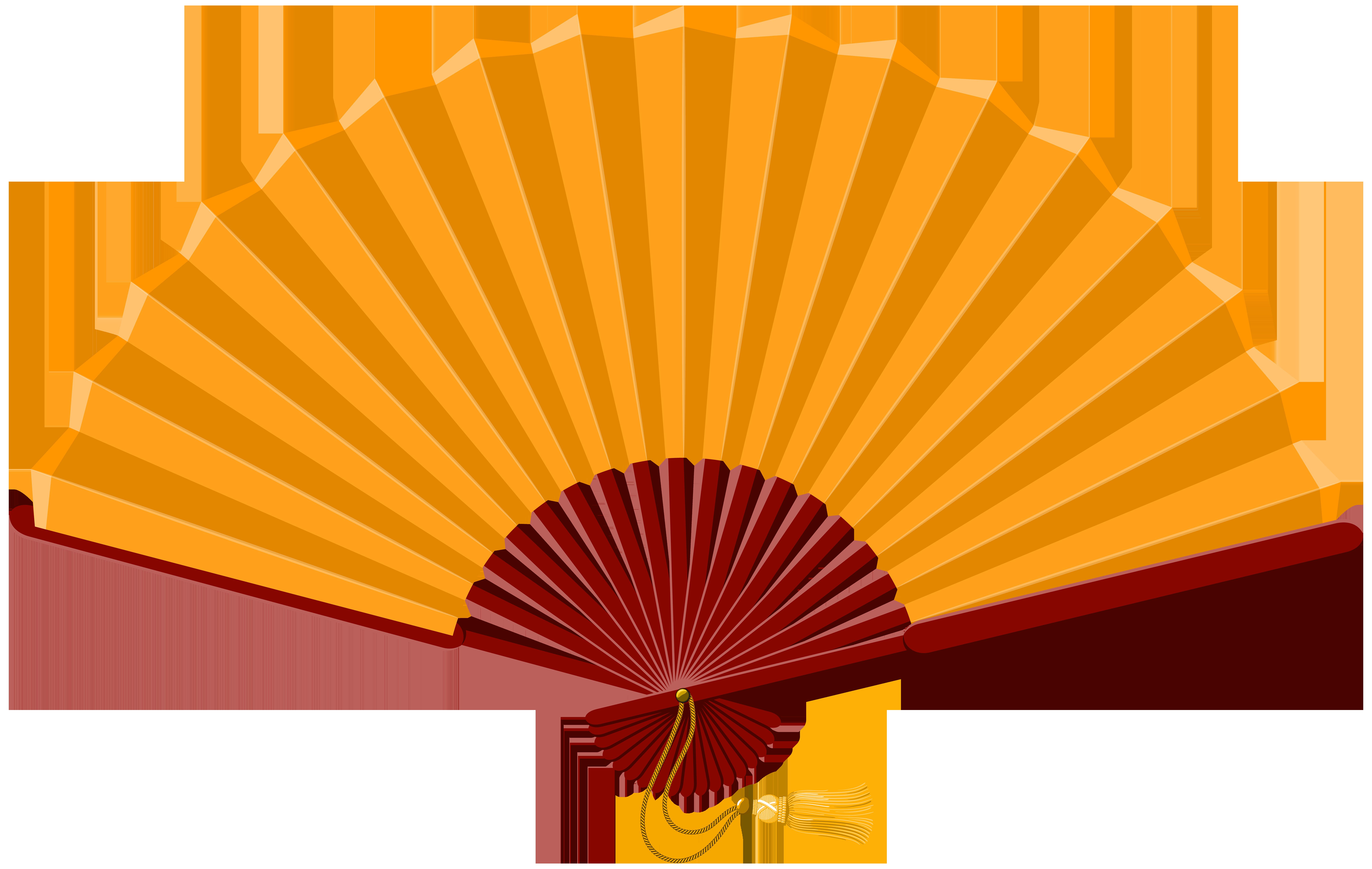 Chinese png clip art. Japan clipart fan oriental